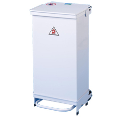 Hands Free Fire Retardant Removable Body 70 Litre Bin