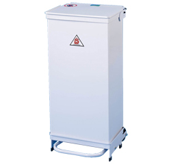 Hands Free Fire Retardant Removable Body 90 Litre Bin
