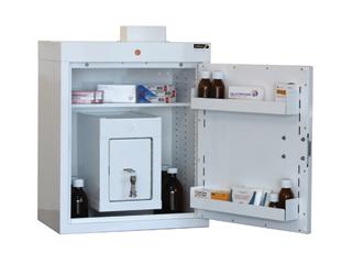 Medicine Cabinet 90 Litre with 17 Litre Inner Drug Cabinet
