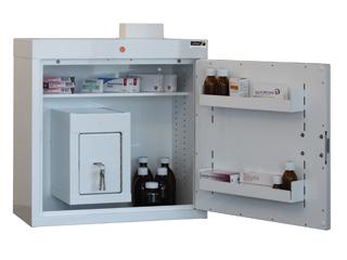 Medicine Cabinet 108 Litre with 17 Litre Inner Drug Cabinet