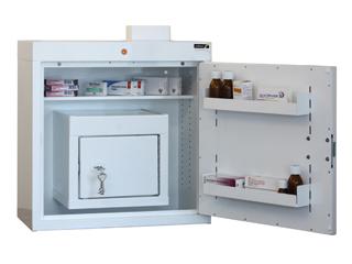 Medicine Cabinet 108 Litre with 27 Litre Inner Drug Cabinet