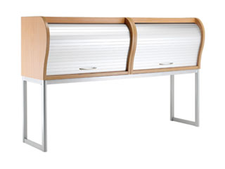 Overhead Desk Tambour Unit