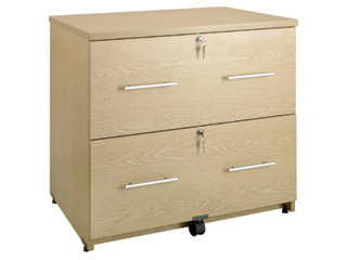 Desk Height Side Filing Cabinet