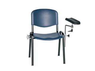 Phlebotomy Chair - Blue