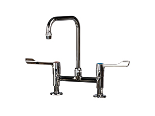 Traditional Swan Neck Mixer Lever Tap