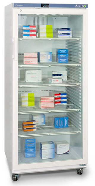 Shoreline SM544G - 544 Litres Pharmacy Fridge with Glass Door