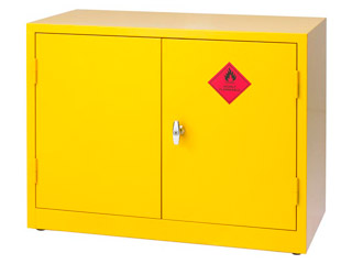Flamables Cabinet 299 Litre with Double Door 712mm (H)