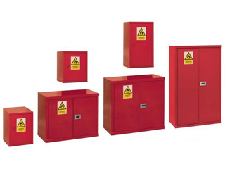 Heavy Duty Hazardous Cabinet 121 Litre with Single Door 600mm (H)