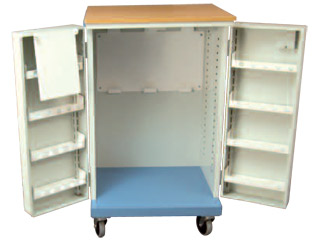 MDS Drug Trolley with Double Door