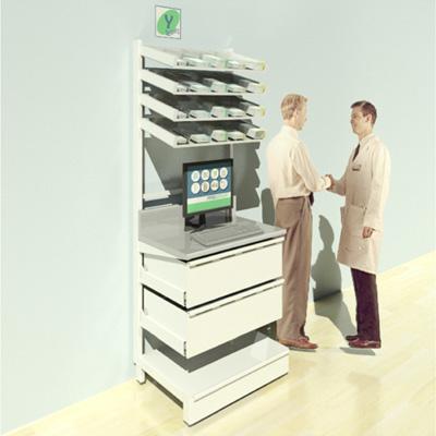 FY-003T Full Height Pharmacy Shelving