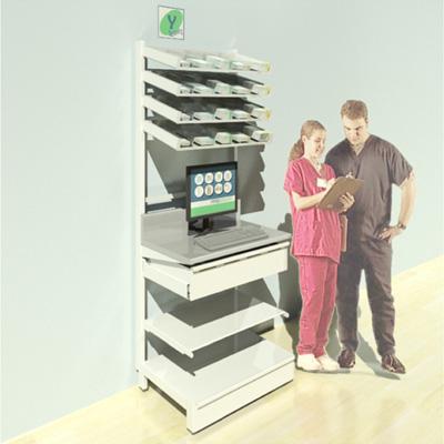 FY-006T Full Height Pharmacy Shelving