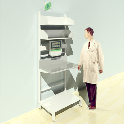 FY-009T Full Height Pharmacy Shelving