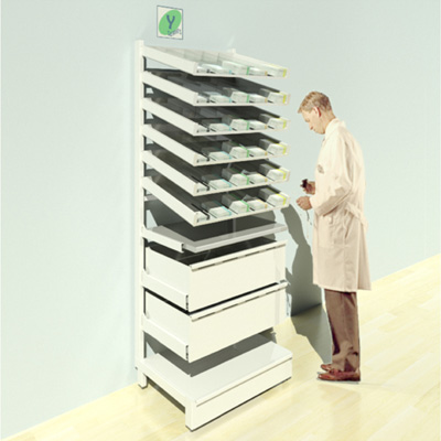 FY-011T Full Height Pharmacy Shelving