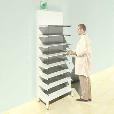 FY-014T Full Height Pharmacy Shelving