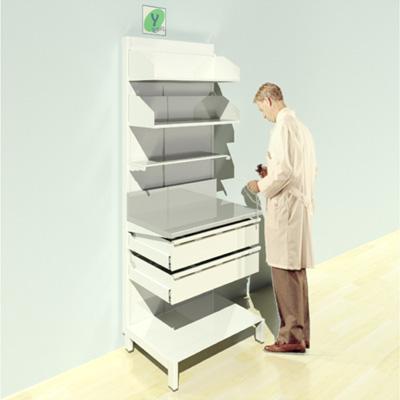 FY-015T Full Height Pharmacy Shelving