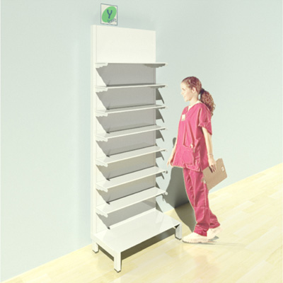 FY-017T Full Height Pharmacy Shelving