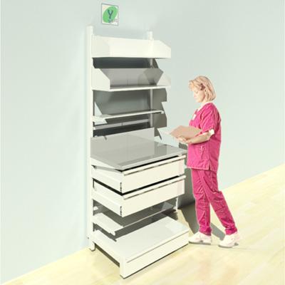 FY-018T Full Height Pharmacy Shelving