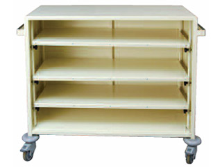 Clean Linen Storage Trolley
