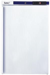 Light Catering Fridge 153 Litre White with Solid Door
