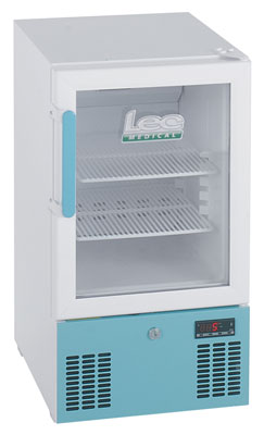 LEC PG102C - Pharmacy Fridge 41 Litre with Glass Door