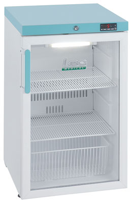 LEC PG307C - Pharmacy Fridge 107 Litre with Glass Door