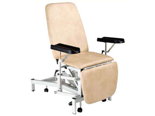 Phlebotomy Chair Hydrolic with Two Phlebotomy Arms