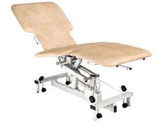 Echocardiography Couch 3 Section 3 Motor with Profiled Upholstery & Paper Roll Holder