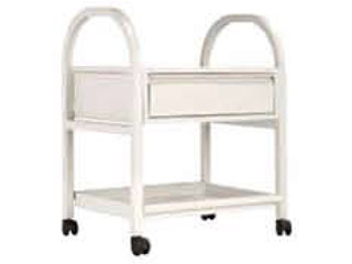 Dressing Trolley with One Drawer & Two Shelves