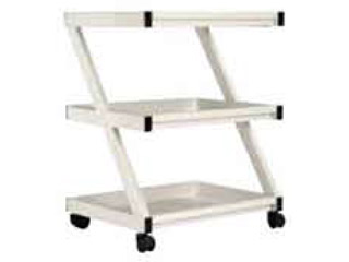 Three Shelf Z Intrument Trolley