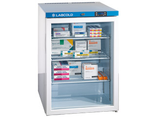 Labcold IntelliCold™ RLDG0510 - 150 Litre Pharmacy Fridge with Glass Door